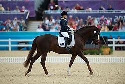 Formosa Joann (AUS) - Worldwide PB<br /> Individual Championship Test  - Grade Ib - Dressage <br /> London 2012 Paralympic Games<br /> © Hippo Foto - Jon Stroud