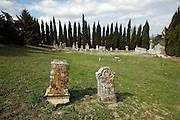 old rural graveyard France Razes