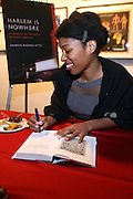 14 January 2011- Harlem, NY- Shariffa Rhodes-Pitts at Shariffa Rhodes-Pitts Book Launch and Book Signing of her new Book ' Harlem is Nowhere '  held at The Studio Museum in Harlem on January 14, 2011 in Harlem. Photo Credit: Terrence Jennings
