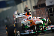 February 20, 2013 - Barcelona Spain. Paul di Resta, Sahara Force India F1 Team  during pre-season testing from Circuit de Catalunya.