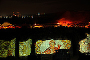 Israel, Bet Shean, Scythopolis, an Audio Visual show on the ruins