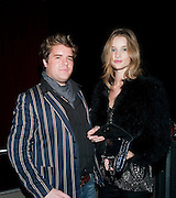 Michael; Rosie Huntingdon-Whiteley, The opening night of La Clique at the Rounhouse i. 25 November 2009