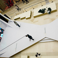 BEIJING, MARCH-21:  rehearsal for a fashion show in the Season's Place