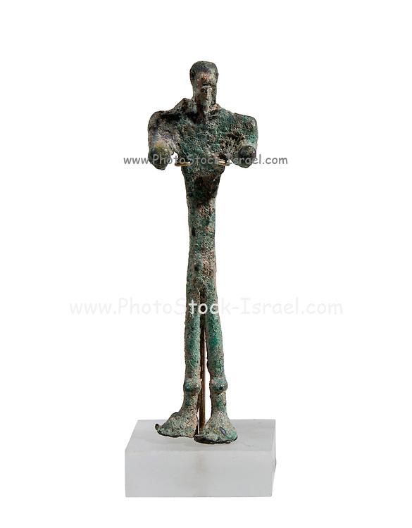 Canaanite copper figurine, bronze age, 16th century BCE