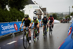 Gracie Elvin (AUS) with three laps to go at Ladies Tour of Norway 2018 Stage 2, a 127.7 km road race from Fredrikstad to Sarpsborg, Norway on August 18, 2018. Photo by Sean Robinson/velofocus.com