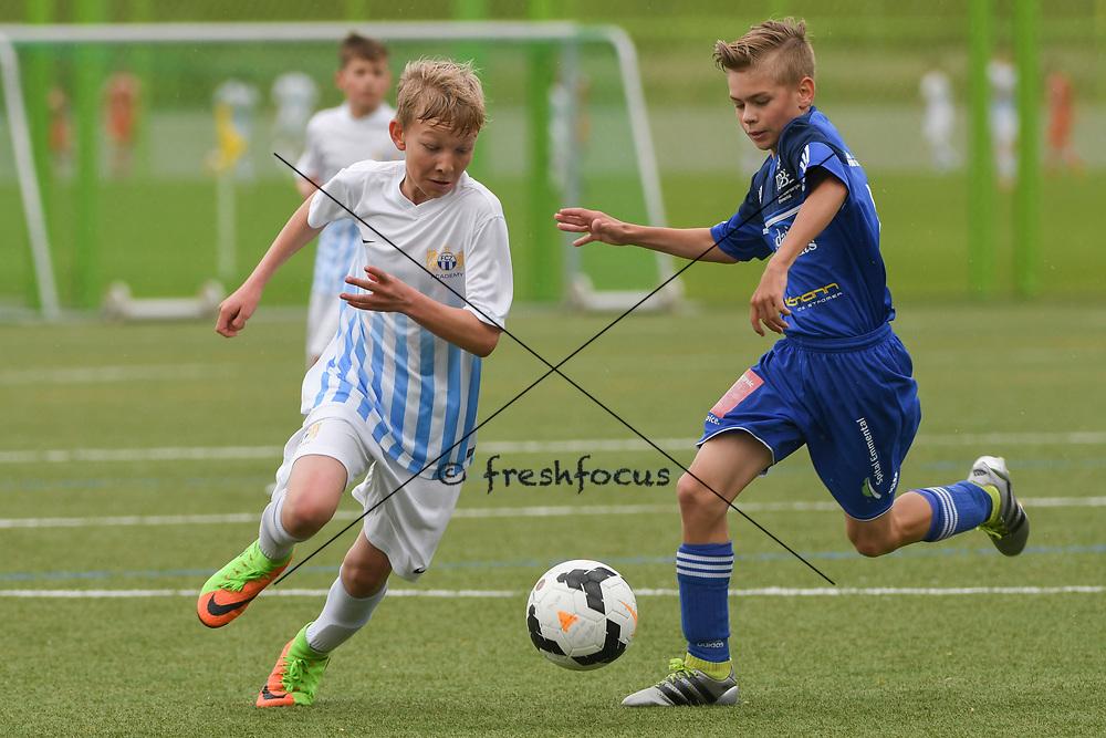 06.05.2017; Zuerich; <br /> Fussball FCZ Academy - FC Zuerich FE13 Oberland_FE13 TBOE; <br /> Samuel Steiner (Zuerich) <br /> (Andy Mueller/freshfocus)