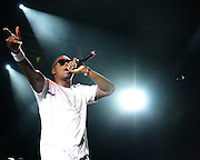 Nas performs at the Rock the Bells Festival at Merriweather Post Pavilion in Columbia, MD on July 28, 2008.