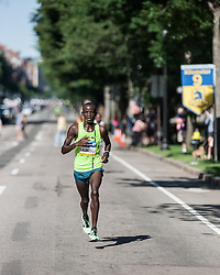 Boston Athletic Association 10K road race: Stephen Sambu takes lead with one kilometer to go