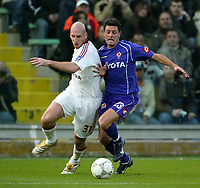 Firenze 20-11-2005<br />Campionato  Serie A Tim 2005-2006<br />Fiorentina Milan<br />nella  foto Jaap Stam Milan (L), Pasqual Fiorentina (R)<br />Foto Snapshot / Graffiti