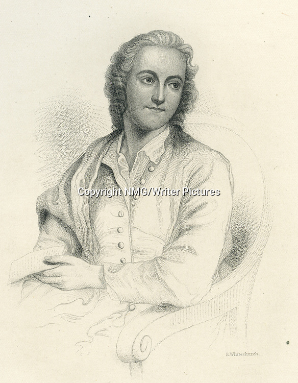 Thomas Gray, English poet and classical scholar<br /> <br /> Copyright NMG/Writer Pictures<br /> WORLD RIGHTS
