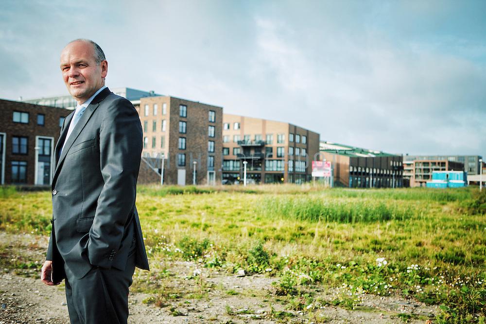 Daan Sperling, bestuursvoorzitter van bouwbedrijf TBI in Rotterdam