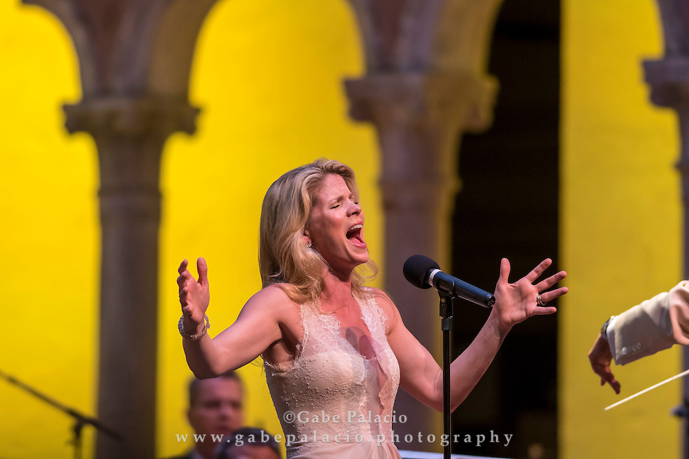 Opening Night Concert featuring Kelli O&rsquo;Hara<br />  in the Venetian Theater at Caramoor in Katonah New York on June 18, 2016. <br /> (photo by Gabe Palacio)