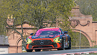 #66 Nick Jones / Scott Malvern Team Parker Racing Mercedes-AMG GT4 Pro/Am GT4  during British GT Championship as part of the British F3 / GT Championship at Oulton Park, Little Budworth, Cheshire, United Kingdom. April 19 2019. World Copyright Peter Taylor/PSP. Copy of publication required for printed pictures.