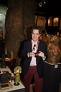 MATHEW STEEPLES, The preview of LAPADA Art and Antiques Fair. Berkeley Sq. London. 21 September 2015.