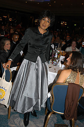 TV newsreader MOIRA STEWART at the Chain of Hope Autumn Ball Fiesta held at The Dorchester, Park Lane, London on 6th October 2004.