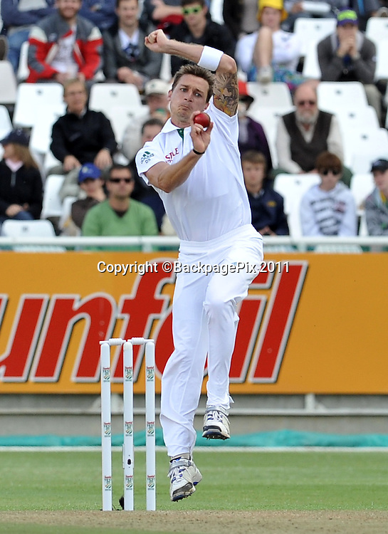 Dale Steyn of South Africa. South Africa v Australia, first test, day 1, Newlands, South Africa. 9 November 2011.<br /> <br /> &copy;Ryan Wilkisky/BackpagePix