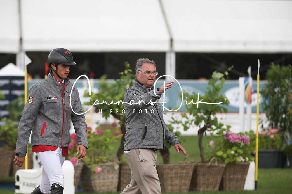 Philippaerts Nicola, BEL, Weinberg Peter, GER<br /> FEI Nations Cup - Roeser 2017<br /> © Hippo Foto - Julien Counet<br /> 30/06/17