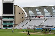 General view before the Bob Willis Trophy match between Nottinghamshire County Cricket Club and Derbyshire County Cricket Club at Trent Bridge, Nottingham, United Kingdon on 4 August 2020.