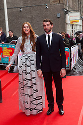 Karen Gillan and Stanley Weber.<br /> Closing night of EIFF gala screening of Not Another Happy Ending at the Festival Theatre.<br /> ©Michael Schofield.