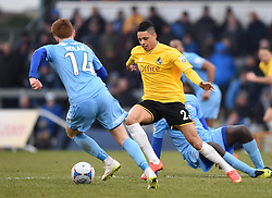 Bristol Rovers' Daniel Leadbitter in action during the Vanarama Conference match between Bristol Rovers and Lincoln City at The Memorial Stadium on 7 February 2015 in Bristol, England - Photo mandatory by-line: Paul Knight/JMP - Mobile: 07966 386802 - 07/02/2015 - SPORT - Football - Bristol - The Memorial Stadium - Bristol Rovers v Lincoln City - Vanarama Conference