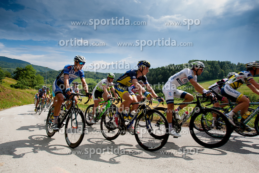 Marko Kump of Saxo-Tinkoff during Slovenian National Championship in Road Cycling, on June 23, 2013, in Gabrje, Slovenia. (Photo by Urban Urbanc / Sportida.com)