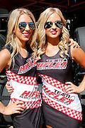 Grid Girls <br /> V8 Supercars. Clipsal 500. Adelaide Parklands Circuit.Adelaide. Australia. Saturday 2/3/2013.copyright: &copy; ATP Damir IVKA<br />  - <br /> V8 Tourenwagen Rennen in Adelaide, Australien - 2013,  v8 Saloon car race named Clipsal 500 - Honorarpflichtiges Foto, Fee liable image, Copyright &copy; ATP Damir IVKA