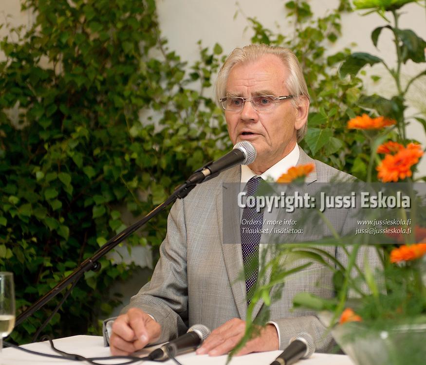 Pentti Seppälä. Eerikkilä Areenan avajaistilaisuus. Eerikkilä, 25.6.2013. Photo: Jussi Eskola