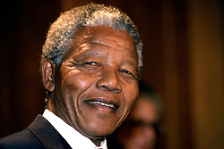 African National Congress deputy leader Nelson Mandela.
