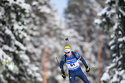 March 9, 2019 - –Stersund, Sweden - 190309 Cornel Puchianu of Romania competes in the Men's 10 KM sprint during the IBU World Championships Biathlon on March 9, 2019 in Östersund..Photo: Petter Arvidson / BILDBYRÃ…N / kod PA / 92252 (Credit Image: © Petter Arvidson/Bildbyran via ZUMA Press)