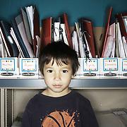 Ethan Jastak. Casey Brennan's kindergarten class at Hopkins Elementary School in Sherwood on Wednesday, May 23, 2012.