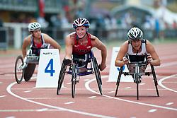 MCFADDEN Tatyana, USA, 800m, T54, 2013 IPC Athletics World Championships, Lyon, France