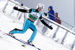 February 8, 2019 - Lahti, Finland - Kevin Maltsev participates in FIS Ski Jumping World Cup Large Hill Individual training at Lahti Ski Games in Lahti, Finland on 8 February 2019. (Credit Image: © Antti Yrjonen/NurPhoto via ZUMA Press)