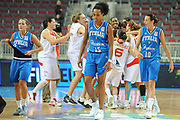 DESCRIZIONE : Riga Latvia Lettonia Eurobasket Women 2009 Quarter Final Spagna Italia Spain Italy<br /> GIOCATORE : Chiara Pastore Marte Alexander Laura Macchi<br /> SQUADRA : Italia Italy<br /> EVENTO : Eurobasket Women 2009 Campionati Europei Donne 2009 <br /> GARA : Spagna Italia Spain Italy<br /> DATA : 17/06/2009 <br /> CATEGORIA : super delusione<br /> SPORT : Pallacanestro <br /> AUTORE : Agenzia Ciamillo-Castoria/M.Marchi<br /> Galleria : Eurobasket Women 2009 <br /> Fotonotizia : Riga Latvia Lettonia Eurobasket Women 2009 Quarter Final Spagna Italia Spain Italy<br /> Predefinita :