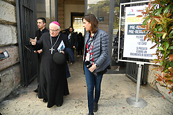 Italy, Verona  - March 29, 2019.Controversial World Families Conference starts in Verona / Verona bishop Giuseppe Zenti  (Credit Image: © Passaro/Fotogramma/Ropi via ZUMA Press)