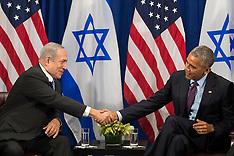 New York: President Obama Meets With PM Netanyahu, 21 September 2016