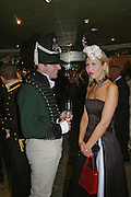 Alan Fall and Natalie Simpson. War and Peace charity Ball, Dorchester Hotel. Park Lane. London. 17 February 2005. ONE TIME USE ONLY - DO NOT ARCHIVE  © Copyright Photograph by Dafydd Jones 66 Stockwell Park Rd. London SW9 0DA Tel 020 7733 0108 www.dafjones.com