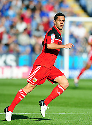 Bristol City's Sam Baldock - Photo mandatory by-line: Joe Meredith/JMP  - Tel: Mobile:07966 386802 06/10/2012 - Leicester City v Bristol City - SPORT - FOOTBALL - Championship -  Leicester  - King Power Stadium