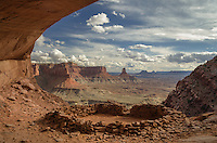 False Kiva, Canyonlands National Park, Utah