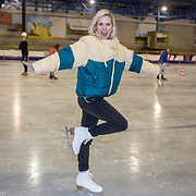 NLD/Dronten/20191111 - Sint on Ice, Jim Ballum en partner Bettina Holwerda