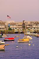 Harbor, Nantucket town, Nantucket Island, Massachusetts, USA