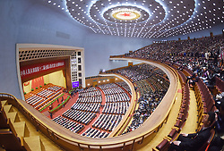 The fourth session of the 12th National People's Congress opens at the Great Hall of the People in Beijing, capital of China, March 5, 2016. EXPA Pictures © 2016, PhotoCredit: EXPA/ Photoshot/ Xue Yubin<br /><br />*****ATTENTION - for AUT, SLO, CRO, SRB, BIH, MAZ, SUI only*****