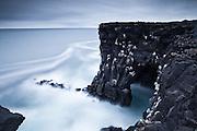 Cliff af Svörtuloft in Snæfellsnes peninsula, west Iceland