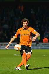 Wolves midfielder Kevin McDonald   - Photo mandatory by-line: Mitchell Gunn/JMP - Tel: Mobile: 07966 386802 01/04/2014 - SPORT - FOOTBALL - Broadhall Way - Stevenage - Stevenage v Wolverhampton Wanderers - League One
