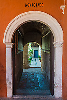 novitiate hall in Santa Catalina monastery at Arequipa Peru