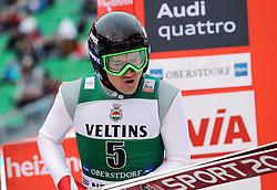 03.02.2017, Heini Klopfer Skiflugschanze, Oberstdorf, GER, FIS Weltcup Ski Sprung, Oberstdorf, Skifliegen, im Bild Marat Zhaparov (KAZ) // Marat Zhaparov (KAZ) during mens FIS Ski Flying World Cup at the Heini Klopfer Skiflugschanze in Oberstdorf, Germany on 2017/02/03. EXPA Pictures © 2017, PhotoCredit: EXPA/ Sammy Minkoff<br /> <br /> *****ATTENTION - OUT of GER*****