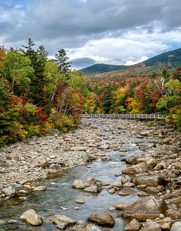 E Branch of the Pemigewasset River in the White Mountain National Forest.