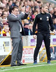 Peterborough United Manager Graham Westley encourages his players from the touchline - Mandatory byline: Joe Dent/JMP - 07966386802 - 26/09/2015 - FOOTBALL - Coral Windows Stadium -Bradford,England - Bradford City v Peterborough United - Sky Bet League One