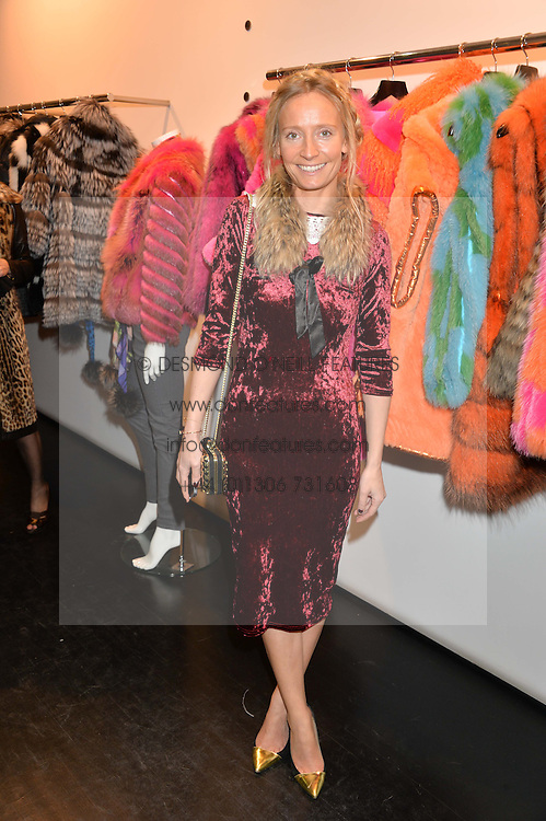 MARTHA WARD at a preview of the Hockley Autumn -Winter 2013/2014 Collection at Hockley, 20 Conduit Street, London on 26th November 2013.