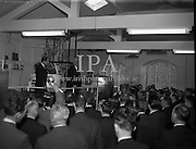 17/10/1958<br /> <br /> Launching of New Dublin Gin at Gilbeys<br /> 17/10/1958