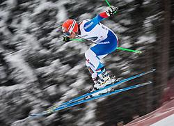 21.02.2013, Kandahar, Garmisch Partenkirchen, AUT, FIS Weltcup Ski Alpin, Abfahrt, Herren, 1. Training, im Bild Patrick Kueng (SUI) // Patrick Kueng of Switzerland in action during 1st practice of the  mens Downhill of the FIS Ski Alpine World Cup at the Kandahar course, Garmisch Partenkirchen, Germany on 2013/02/21. EXPA Pictures © 2013, PhotoCredit: EXPA/ Johann Groder